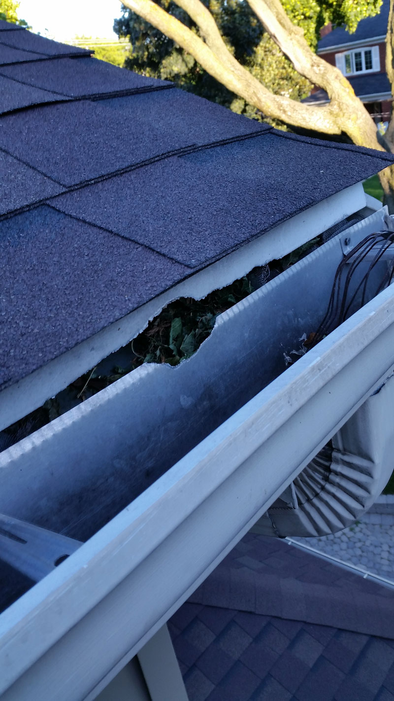 Gutter Repair Mississauga Solid Eavestrough