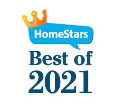 Homestars best of 2021 - Solid Eavestrough - cleaning repair installation company large